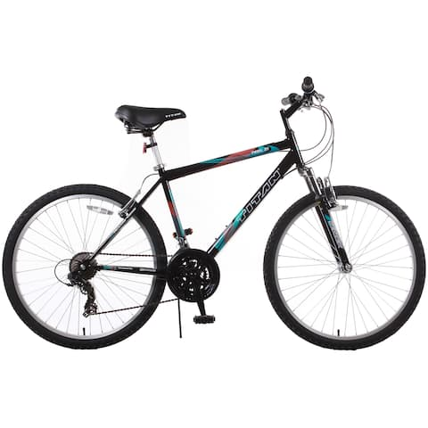 Trail 21-speed Black Suspension Men's Mountain Bike