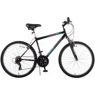 Trail 21-speed Black Suspension Men's Mountain Bike
