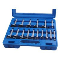 Professional Woodworker 16pc Forst Bit Set 0.25-inch - 2 0.125 - Blue