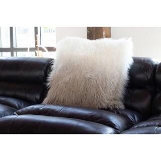 Aurelle Home Aurelle Home Faux Lamb Fur Pillow 22-inch