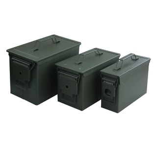 Magnum 3-piece Metal Ammo Cans