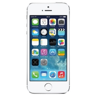 Apple iPhone 5S 32GB Unlocked GSM Seller Refurbished Cell Phone - Silver/White