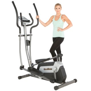 Fitness Reality E5500XL Magnetic Elliptical with Workout Programs - grey