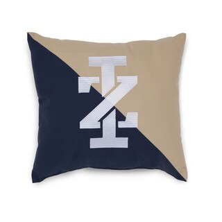 IZOD Classic Stripe Logo Embroidered Decorative Pillow