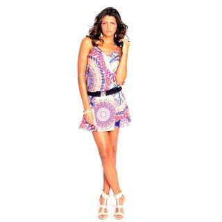 Sara Boo Print Summery Dress