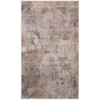 "Safavieh Constellation Vintage Watercolor Beige/ Multi Viscose Rug - 3'3"" x 5'7"""