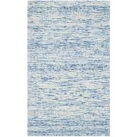 Safavieh Handmade Himalaya Blue Wool Tibetan Rug - 3' x 5'