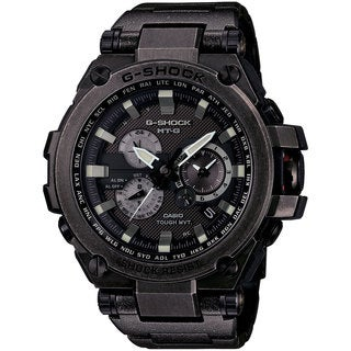 Casio G-Shock Men's MTGS1000V-1ACR Analog Black Dial Black Stainless Steel Bracelet Watch
