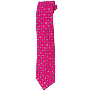 Davidoff 100-percent Silk Pink Azalea Neck Tie
