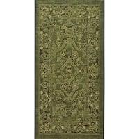 Safavieh Palazzo Black/ Cream/ Dark Green Oriental Area Rug - 2'6 x 5'