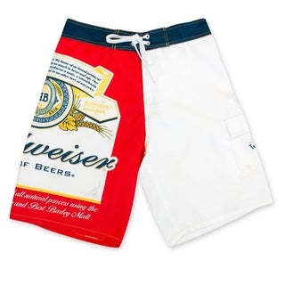 Budweiser Men's Bottle Label Board Shorts