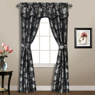 Carrington Woven Floral Window-in-a-bag 5-Piece Set