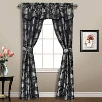 Luxury Collection Carrington Woven Floral Window-in-a-bag 5-Piece Set - 52 x 84
