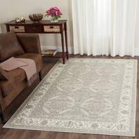Safavieh Persian Garden Silver/ Ivory Viscose Rug (4' x 5' 7)
