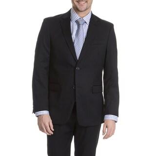 Tommy Hilfiger Men's Navy Trim Fit Suit Separates Two Button Blazer