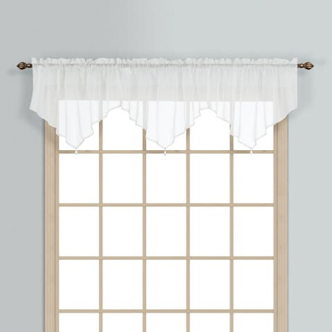 Luxury Collection Monte Carlo Coordinating Sheer Voile Ascot Valance