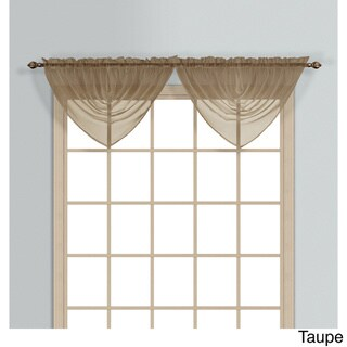 Monte Carlo Coordinating Sheer Voile Waterfall Valance