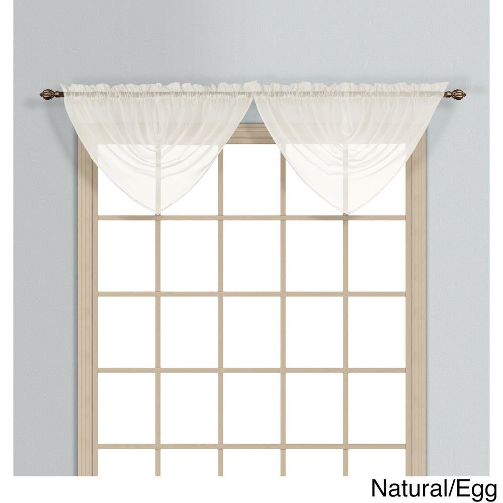Shop Luxury Collection Monte Carlo Sheer Waterfall Valance - 11421400