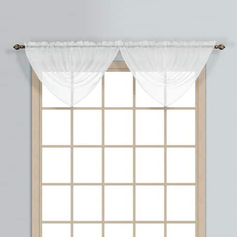Luxury Collection Monte Carlo Sheer Waterfall Valance
