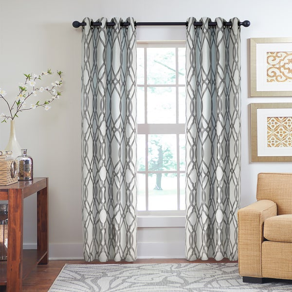 Grand Luxe Inchant Grommet Window Curtain Free Shipping
