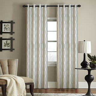 Grand Luxe Infinity Grommet Window Curtain