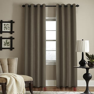 Grand Luxe Woodstock Blackout Grommet Window Curtain