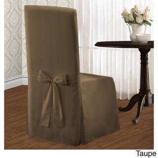 Luxury Collection Metro Dining Chair Cover (Option: Taupe)