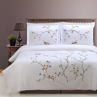 Superior Blossom 3-piece Duvet Cover Set