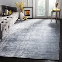 Safavieh Handmade Mirage Modern Light Grey Viscose Rug - 8' x 10'