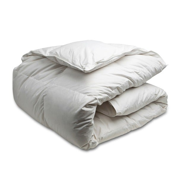 canadian down and feather company regular weight white goose down comforter free shipping. Black Bedroom Furniture Sets. Home Design Ideas