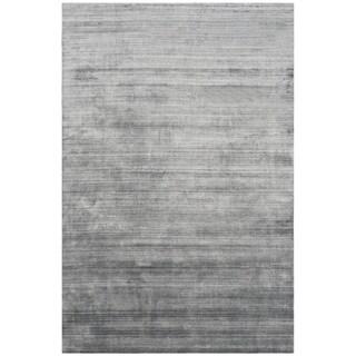 Safavieh Handmade Mirage Modern Dark Grey Viscose Rug (9' x 12')