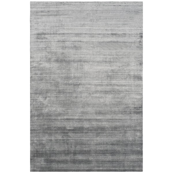 Safavieh Handmade Mirage Modern Dark Grey Viscose Rug 9