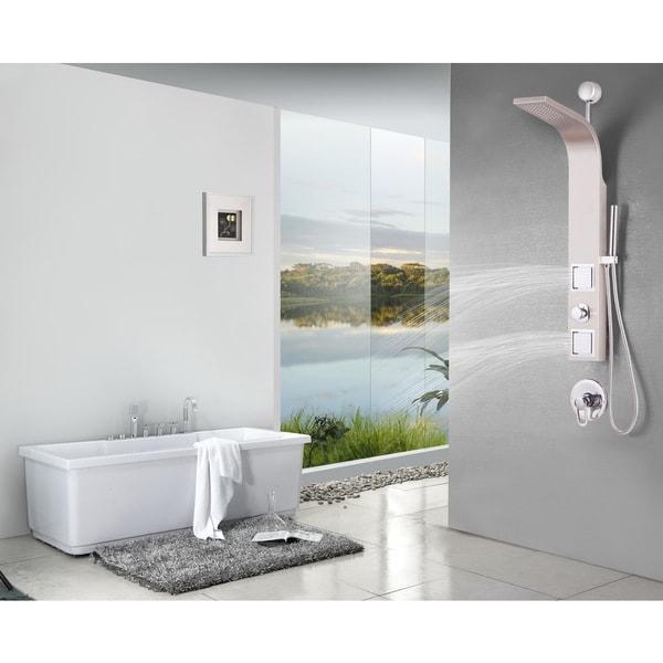 Shower Panels Showers Valore Vs 1205 Simplicity Retrofit Shower Panel Shower Panels Showers Ltq Ie