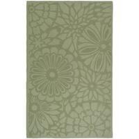 Martha Stewart by Safavieh Full Bloom Pumpkin Seed Wool Rug - 8' x 10'