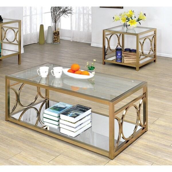Shop Furniture Of America Mishie Contemporary 2-Piece