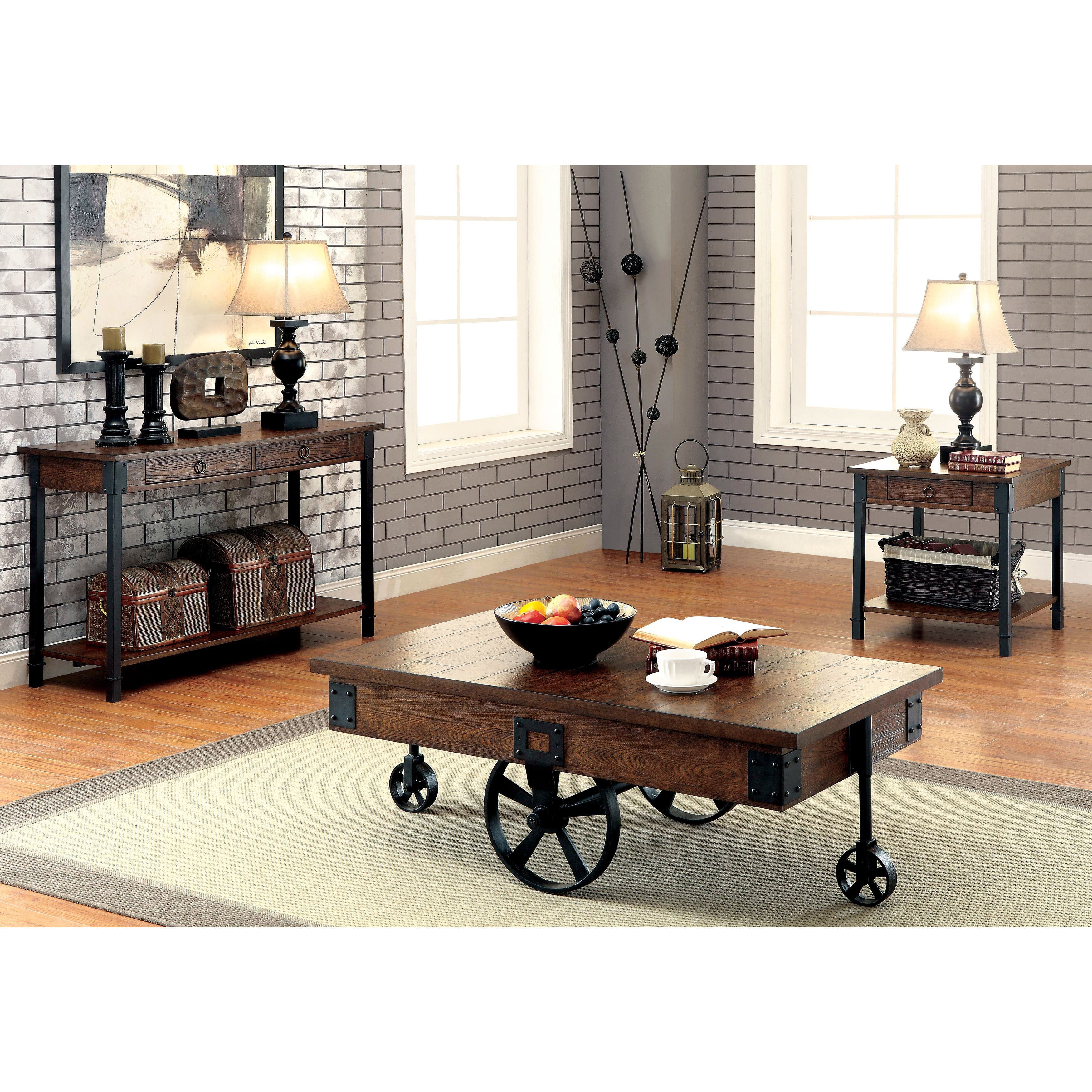 Online Furniture Deals: Buy Coffee, Console, Sofa & End Tables Online At Overstock