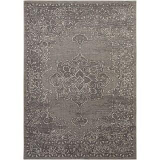 Safavieh Palazzo Light Grey/ Anthracite Rug (8' x 11')