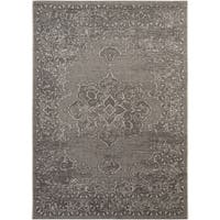 Safavieh Palazzo Light Grey/ Anthracite Medallion Area Rug - 8' x 11'