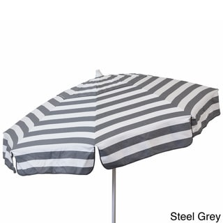 Euro 6-foot Striped Umbrella