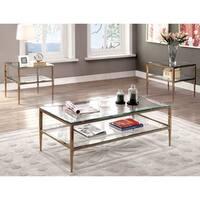 Furniture of America Midiva Contemporary Metal 3-piece Accent Table Set