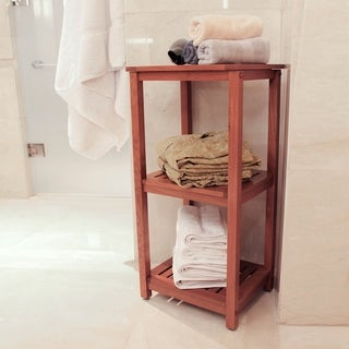 Spa Teak 3-tiered Tower