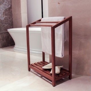 Spa Teak Towel Rack