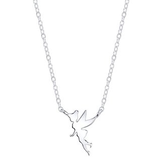 Disney Sterling Silver Tinkerbell Necklace