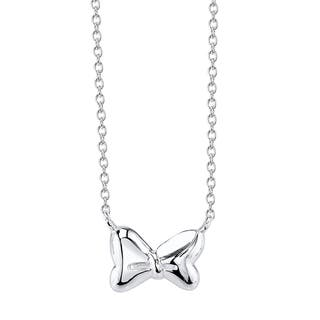 Disney Sterling Silver Minnie Mouse Bow Necklace|https://ak1.ostkcdn.com/images/products/11422005/P18384606.jpg?impolicy=medium