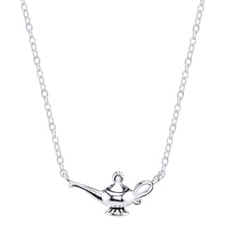 Disney Sterling Silver Aladdin Magic Lamp Necklace|https://ak1.ostkcdn.com/images/products/11422052/P18384613.jpg?impolicy=medium