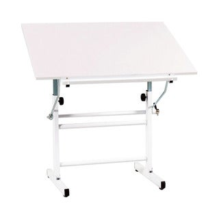 Offex Bel Aire Nuevo Drawing/Drafting Table White Top