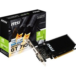 MSI GT 710 1GD3H LP GeForce GT 710 Graphic Card - 954 MHz Core - 1 GB