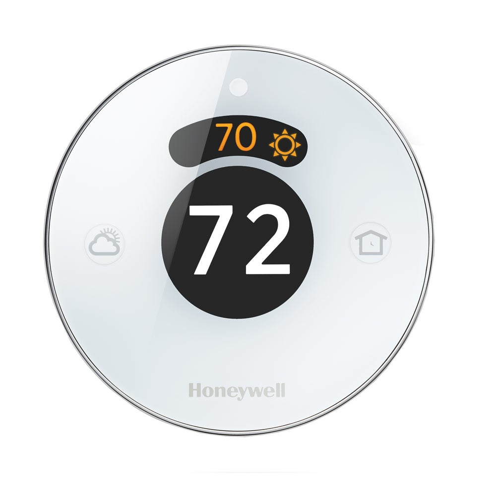 Honeywell RCH9310WF5003/W 3.75-inch Round White Lyric Wi-Fi Thermostat