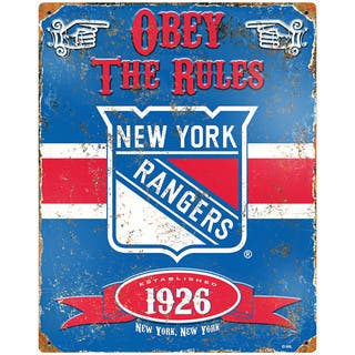 New York Rangers Embossed Metal Sign|https://ak1.ostkcdn.com/images/products/11425032/P18387327.jpg?impolicy=medium
