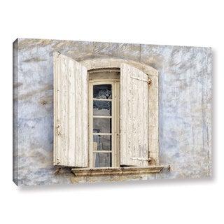 ArtWall Cora Niele's Window III Gallery Wrapped Canvas